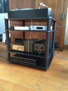 Vintage Audio Systeem